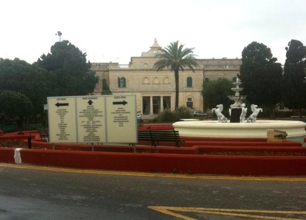 Mount Carmel auf Malta bearbeitet