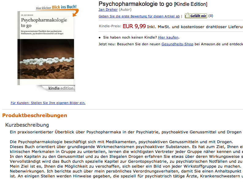 Psychopharmakologie to go kindle edition