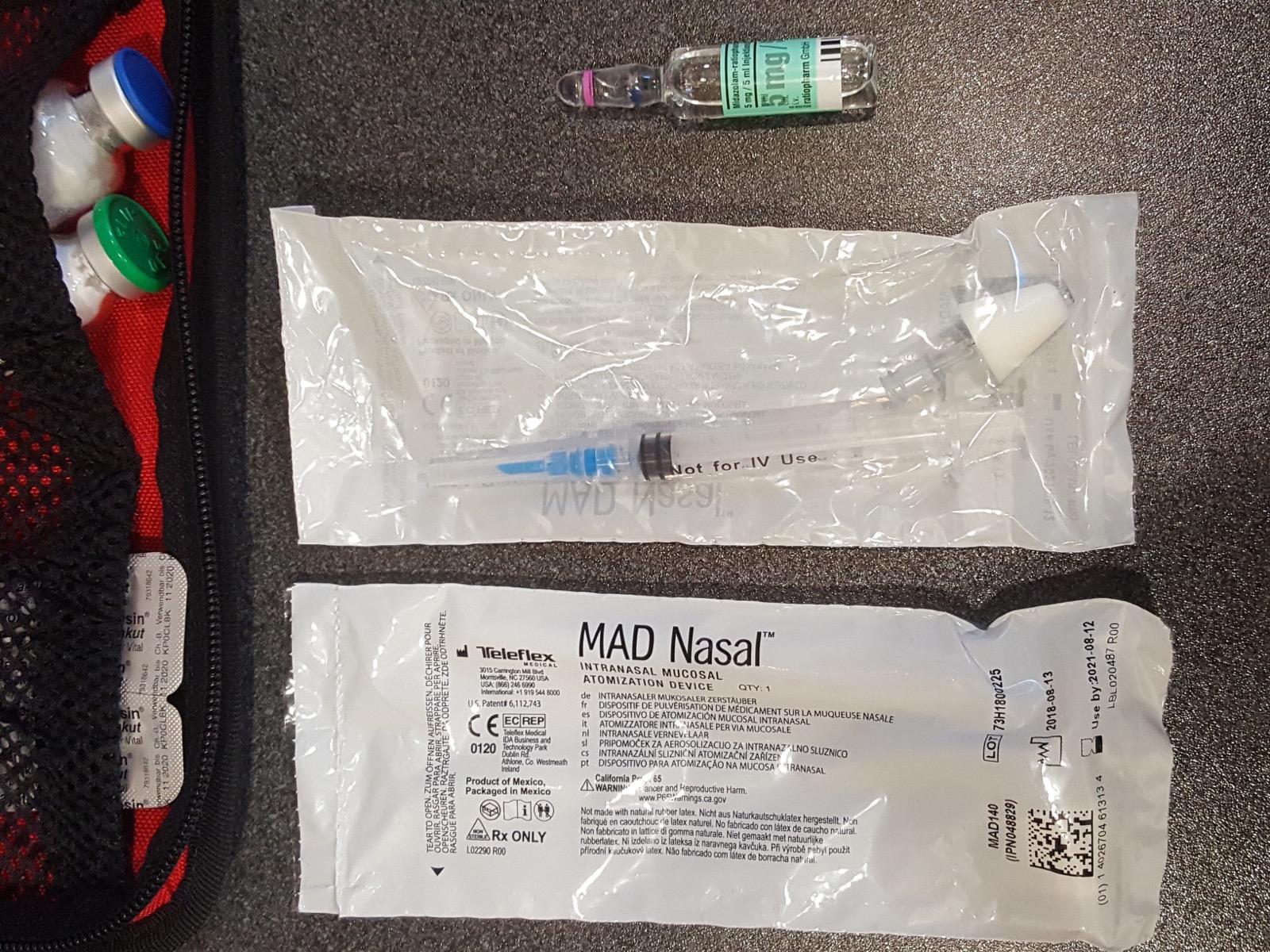 MAD System  Midazolam